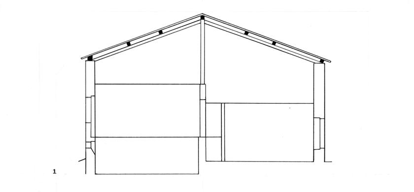 une technique de charpenterie supra r gionale la charpente poteaux de fa te et. Black Bedroom Furniture Sets. Home Design Ideas