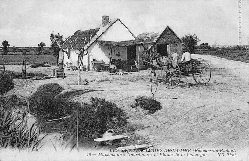 Cabanes et maisons de pcheurs en camargue christian lassure for Maison de camargue
