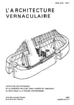 Sommaire du suppl ment 3 de l 39 architecture vernaculaire for Architecture vernaculaire