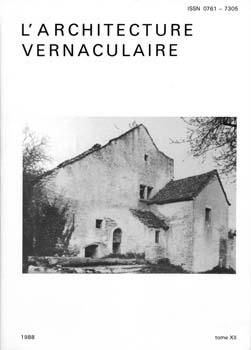 Sommaire tome 12 de l 39 architecture vernaculaire for Architecture vernaculaire