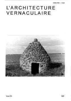 Sommaire tome 19 de l 39 architecture vernaculaire for Architecture vernaculaire