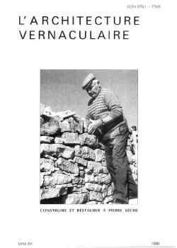 Sommaire tome 20 de l 39 architecture vernaculaire for Architecture vernaculaire