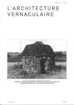 Sommaire tome 24 de l 39 architecture vernaculaire for Architecture vernaculaire