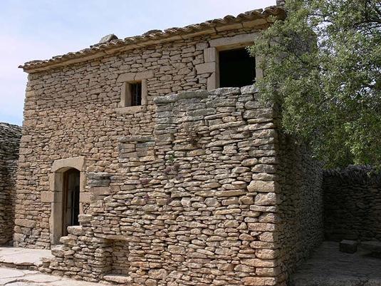 Le mythe des hameaux de pierre s che m di vaux du plateau - Maison en pierre seche ...