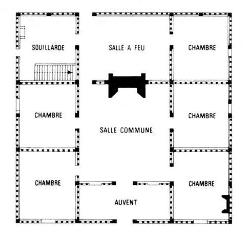 Plan Maison De Maitre  Une Bastide Moderne D Tail Du Plan De Une