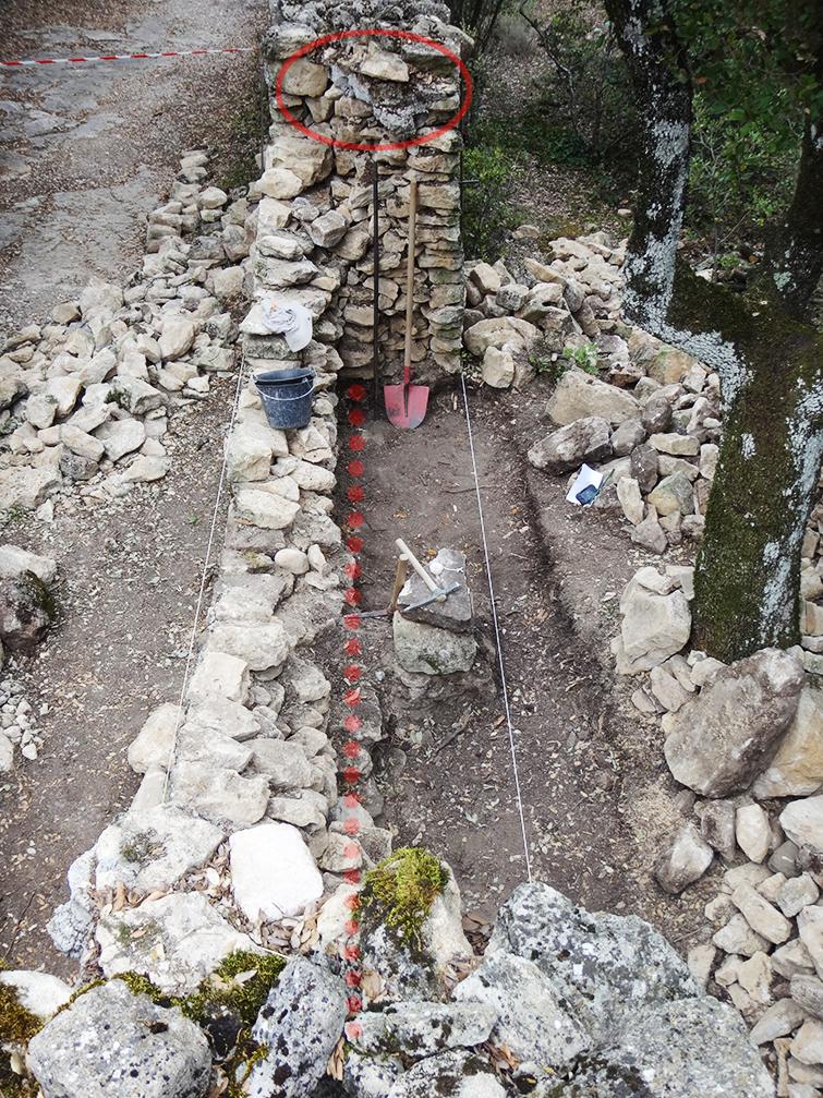 Interventions Sur Le Mur En Pierre S U00e8che Du Clos De L