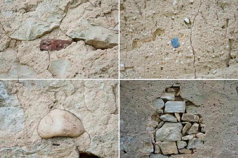 Exemples d 39 enduits la chaux saint cybranet dordogne - Enlever le crepi d un mur interieur ...